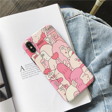"Load image into Gallery viewer, ""WORLD FULL OF LOVE"" IPHONE CASE"
