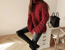 "Load image into Gallery viewer, ""COZY"" WINTER TURTLENECK (2 COLORS)"
