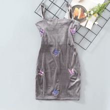 "Load image into Gallery viewer, ""BUTTERFLY PARTY"" DRESS"
