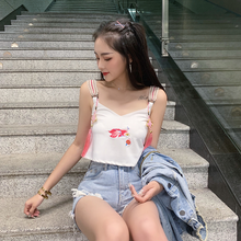 "Load image into Gallery viewer, ""EASTERN GOLDFISH"" CROP TOP (2 COLORS)"