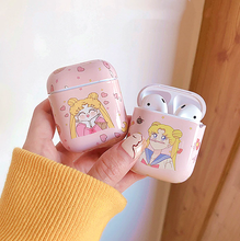 "Load image into Gallery viewer, ""DAILY LIFE"" SAILOR MOON AIRPOD CASE (2 DESIGNS)"
