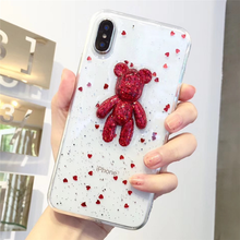 "Load image into Gallery viewer, ""PARTY BEAR"" IPHONE CASE"
