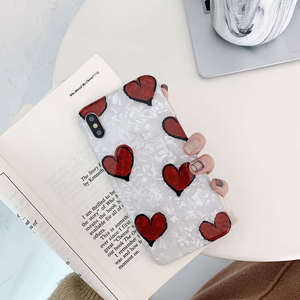 """LOVE IN THE AIR"" IPHONE CASE"