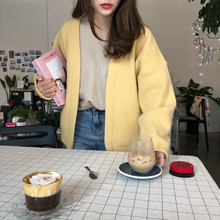 "Load image into Gallery viewer, ""LEMON DATE"" CARDIGAN"