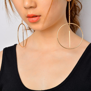 """OPEN"" EARRING (2 COLORS)"