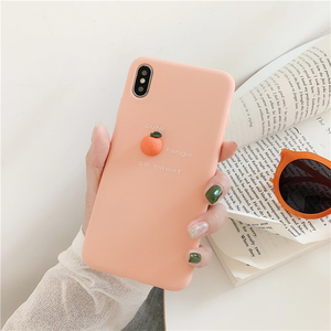 """MINIMALIST FRUITS"" IPHONE CASE (3 COLORS)"