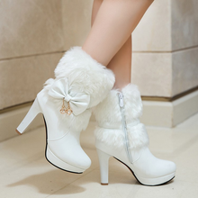 "Load image into Gallery viewer, ""FAIRY WINTER"" ANKLE BOOTS (3 COLORS)"