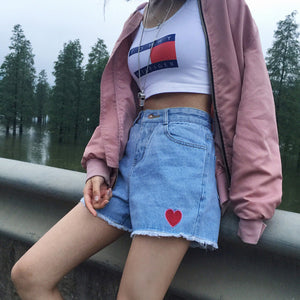 """MINI HEART"" SHORTS"