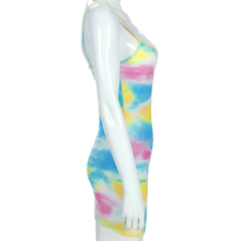 "Load image into Gallery viewer, ""TIE DYE SUMMER"" DRESS"