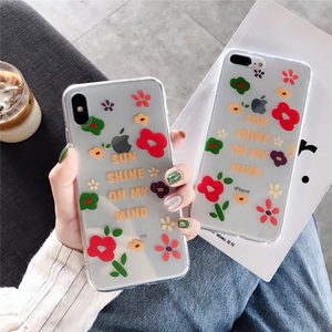 """SUNSHINE ON MY MIND"" IPHONE CASE"