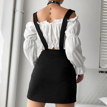 "Load image into Gallery viewer, ""KIKI"" SUSPENDER SKIRT"