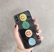 "Load image into Gallery viewer, ""HAPPY DAYS"" IPHONE CASE (2 COLORS)"