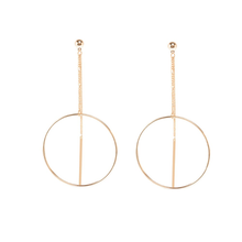 "Load image into Gallery viewer, ""OPEN"" EARRING (2 COLORS)"