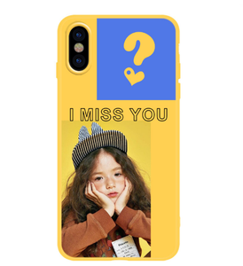 """I MISS YOU"" IPHONE CASE"