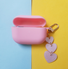 "Load image into Gallery viewer, ""PINK HEARTS"" AIRPODS CASE"
