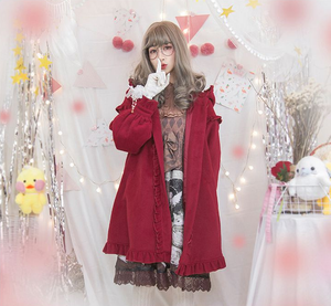 """RED LADY"" WINTER COAT"