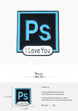 "Load image into Gallery viewer, ""ADOBE LOVE"" PINS (5 COLORS)"
