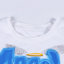 "Load image into Gallery viewer, SPRAY PAINT ""ANGEL"" CROP TOP"