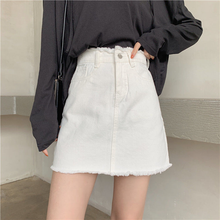 "Load image into Gallery viewer, ""MONOCHROME SISTERS"" SKIRT (2 COLORS)"