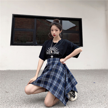 "Load image into Gallery viewer, ""HARAJUKU BABE"" SKIRT (2 COLORS)"