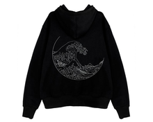 "Load image into Gallery viewer, ""THE GREAT WAVE"" HOODIE (2 COLORS)"