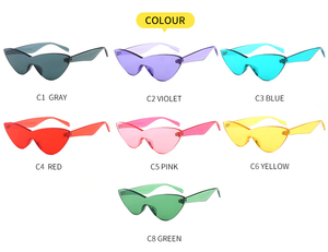 """CYBER LOVE"" GLASSES (7 COLORS)"