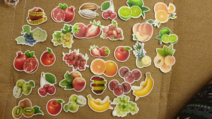 """FRUITS OF LIFE"" STICKERS"