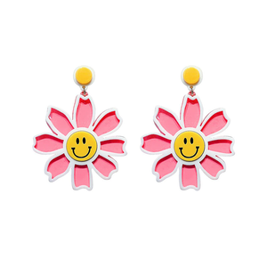 """FLOWERS OF JOY"" EARRINGS (4 COLORS)"