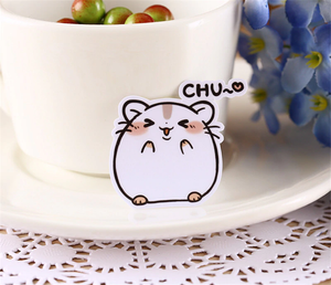 """CHUBBY HAMSTERS"" STICKERS"