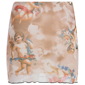 """ANGELIC"" SKIRT (2 COLORS)"