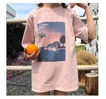 "Load image into Gallery viewer, ""BE HAPPY"" SHIRT (3 COLORS)"