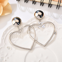 "Load image into Gallery viewer, ""BABY LOVE"" EARRINGS (2 COLORS)"