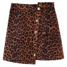 "Load image into Gallery viewer, ""MS. LEOPARD"" SKIRT"