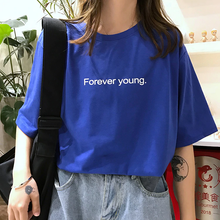"Load image into Gallery viewer, ""FOREVER YOUNG"" SHIRT (3 COLORS)"