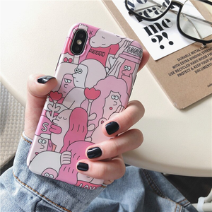 """WORLD FULL OF LOVE"" IPHONE CASE"