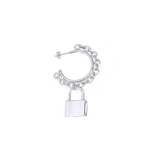 "Load image into Gallery viewer, ""LOCKED UP"" EARRINGS"