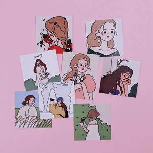 """DELICATE LADY"" STICKERS"