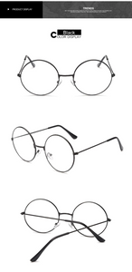 ROUND CIRCLE GLASSES (4 COLORS)