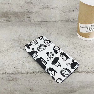 """EVERYONE'S FACES"" IPHONE CASE"