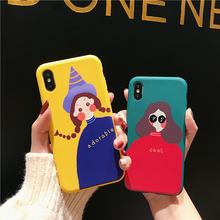 "Load image into Gallery viewer, ""ADORABLE + COOL FRIENDS"" IPHONE CASE (2 DESIGNS)"