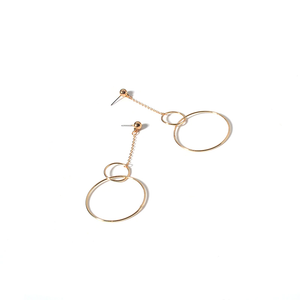 """CYBER O-RING"" EARRINGS (2 COLORS)"
