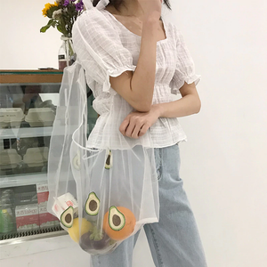 """TRANSPARENT DAYS"" BAG (4 COLORS)"