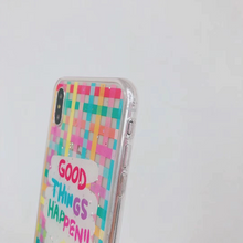 "Load image into Gallery viewer, ""GOOD THINGS HAPPEN"" IPHONE CASE"