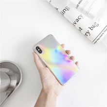 "Load image into Gallery viewer, ""MULTI-RAINBOW"" IPHONE CASE"