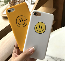 "Load image into Gallery viewer, ""CLASSIC SMILEY FACE"" IPHONE CASE (2 COLORS)"