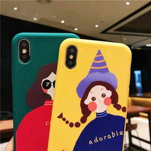 """ADORABLE + COOL FRIENDS"" IPHONE CASE (2 DESIGNS)"