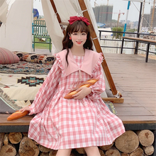 "Load image into Gallery viewer, ""SPRINGTIME PICNIC"" DRESS (2 COLORS)"