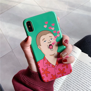 """BOBBY HILL LOVE"" IPHONE CASE"