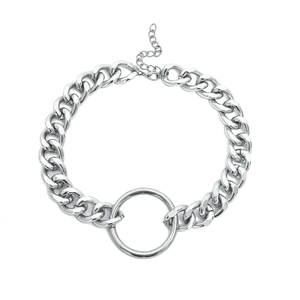 O-RING CHAIN CHOKER (2 COLORS)