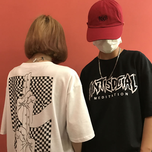 """ANTISOCIAL / APATHY TO SOCIAL SHITS"" TOP (2 COLORS)"